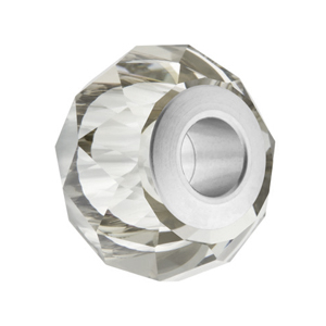 SWAROVSKI 5940 14mm Becharmed Silvershade Steel