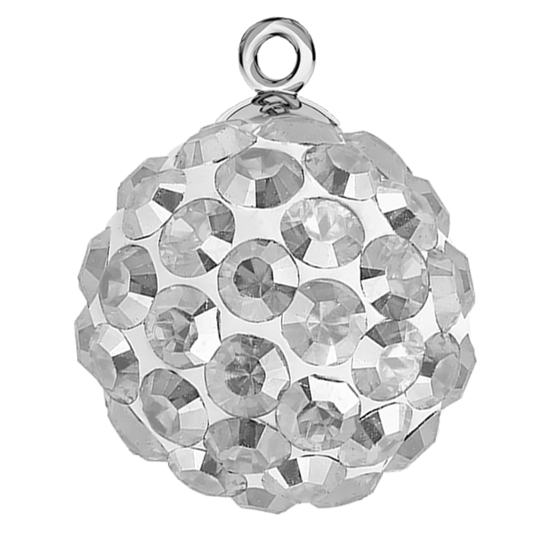 Ball 16mm made with Swarovski Elements Crystal