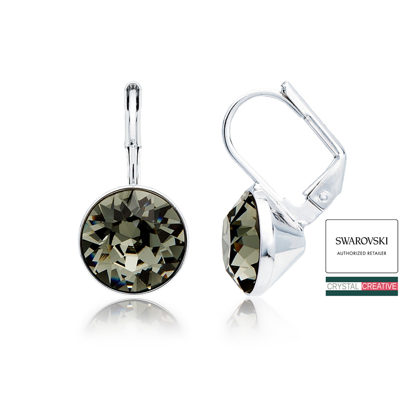 swarovski mini earrings inspiration swarovski mini earrings silver 5254