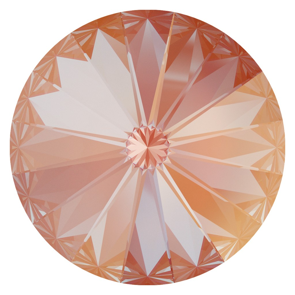 SWAROVSKI Rivoli 1122 12mm Orange Glow DeLite