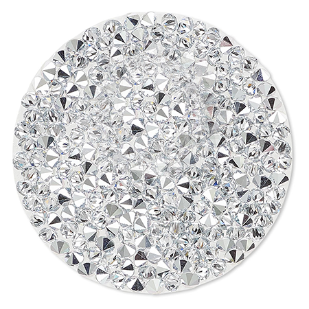 SWAROVSKI® 72013 Crystal Rocks 15mm Comet Argent Light